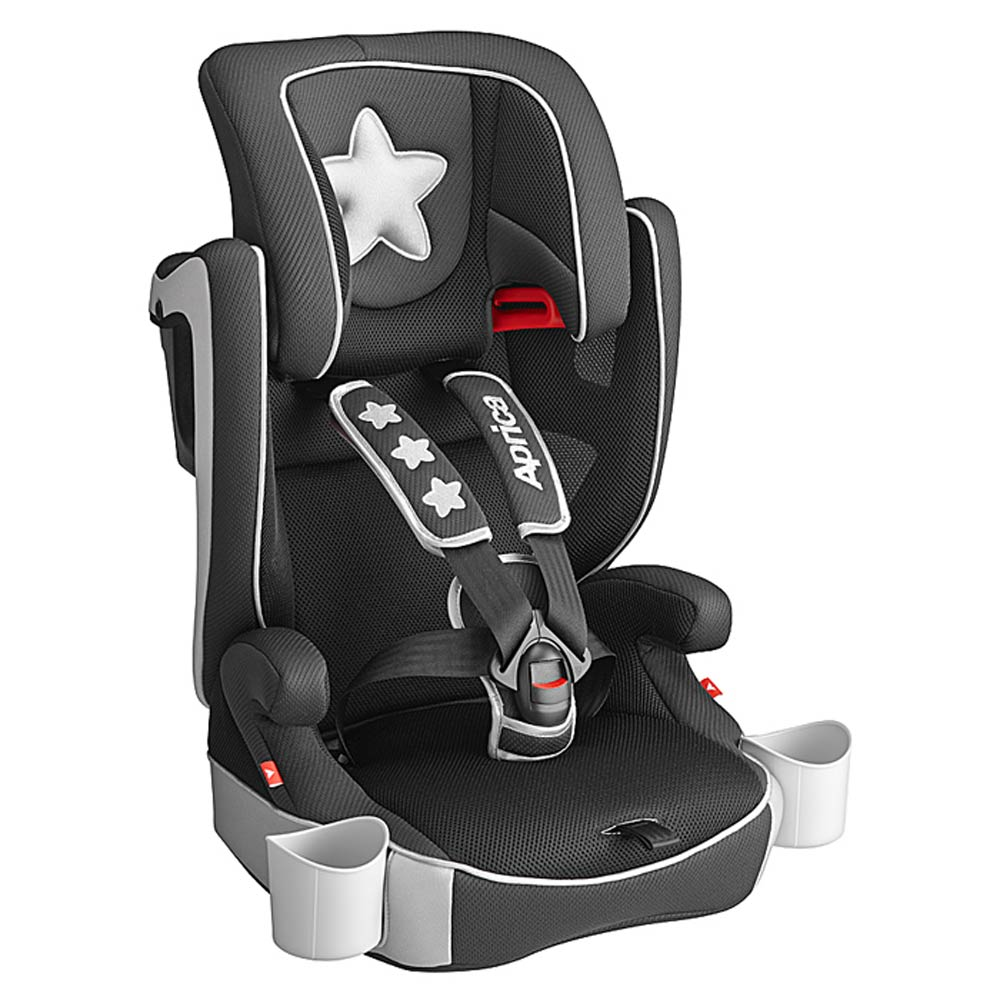 Aprica Air Groove成長型輔助汽車安全座椅 銀彩星