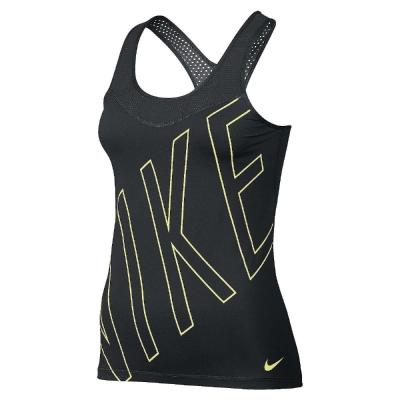 Nike-背心-Pro-Hypercool-女-黑