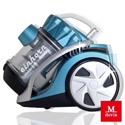 Mdovia-雙層HEPA寵物毛髮專用無袋式吸塵器-藍