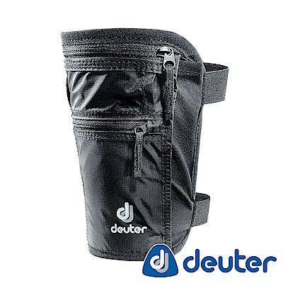 【ATUNAS 歐都納】德國DEUTER旅遊防竊隱藏式/腿套錢包證件隨身包3942316黑