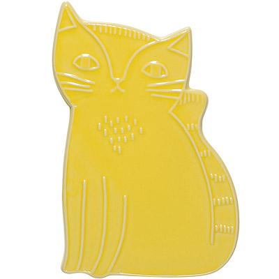 DANICA 陶製隔熱墊(好奇貓)