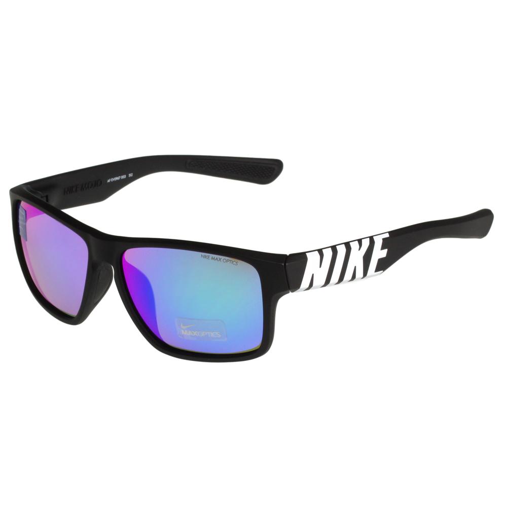 NIKE-MOJO系列反光運動太陽眼鏡黑色