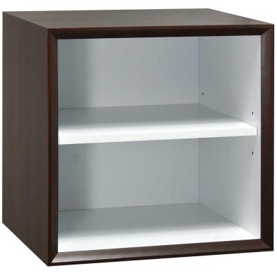 魔術方塊36系統收納櫃/棚板櫃-胡桃色