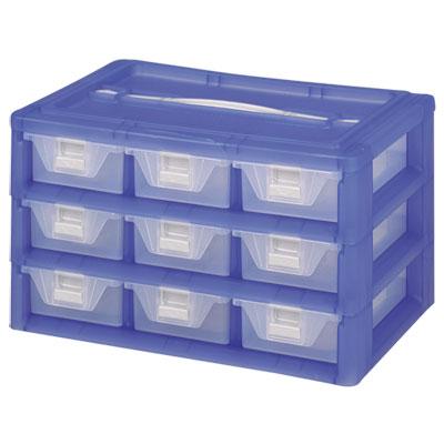 【DOLEDO】手提分類收納整理盒-九格