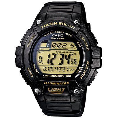 CASIO 陽光遊俠電子運動錶(W-S220-9A)-黃面/49.8mm