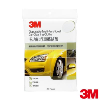 3M 多功能汽車擦拭紙