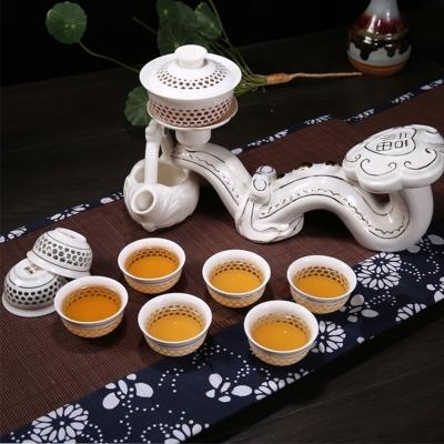 Pure 玉如意造型自動茶具10件組