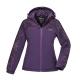 【ATUNAS 歐都納】女款防水透氣/輕量蓄熱保暖防風外套A-G1745W藍紫 product thumbnail 1