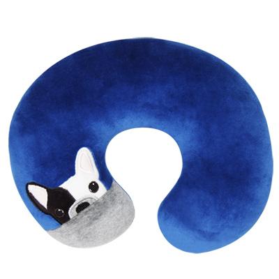 Yvonne Collection狗狗頸部抱枕-深藍