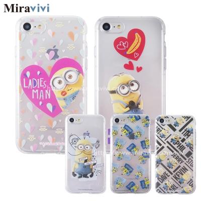 Minions 小小兵iPhone 8/7(4.7吋)可愛防摔氣墊空壓保護套