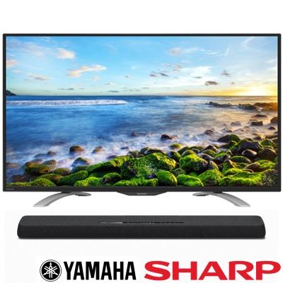 SHARP夏普 45吋 連網液晶 LC-45LE580T+Yamaha YAS-107