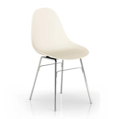 TOOU 義大利品牌 TA系列 蒙莎休閒椅 (金屬色椅腳)