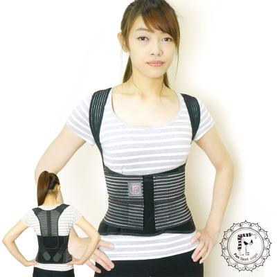 Fun Sport 體態美2合1挺胸塑腹帶(挺背帶/護腰帶/束腰帶/駝背矯正)