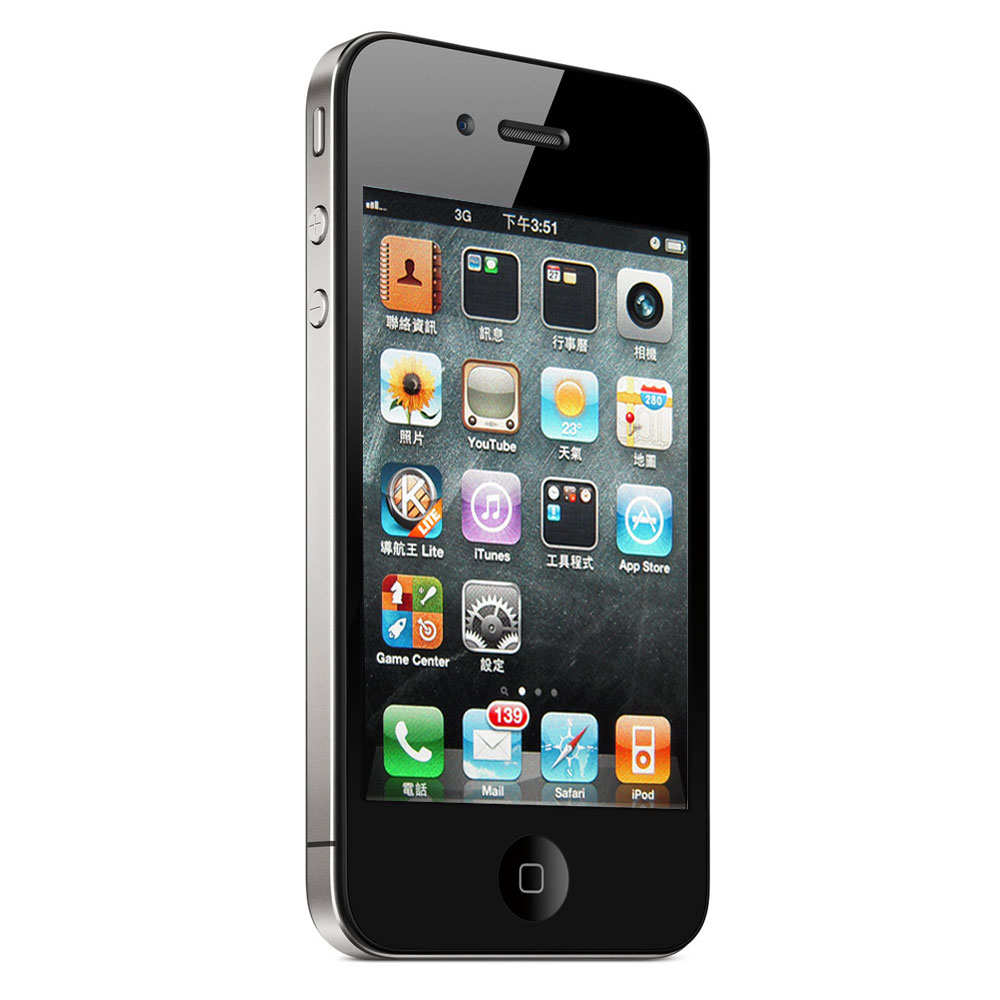 【福利品】Apple iPhone 4 16G 智慧手機