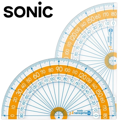 Sonic 9CM 超強止滑大數字分度器10入