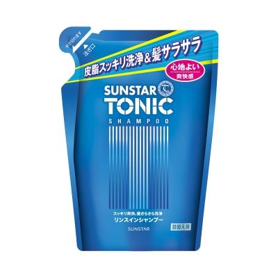 TONIC 頭皮清爽洗髮精360ml補充包(雙效配方)
