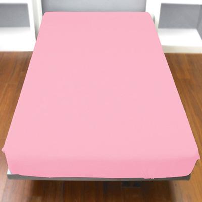 Yvonne Collection雙人純棉床包-淺粉紅