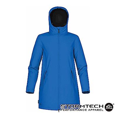 【加拿大STORMTECH】SPK-1W防撥水細刷毛長版機能外套-藍