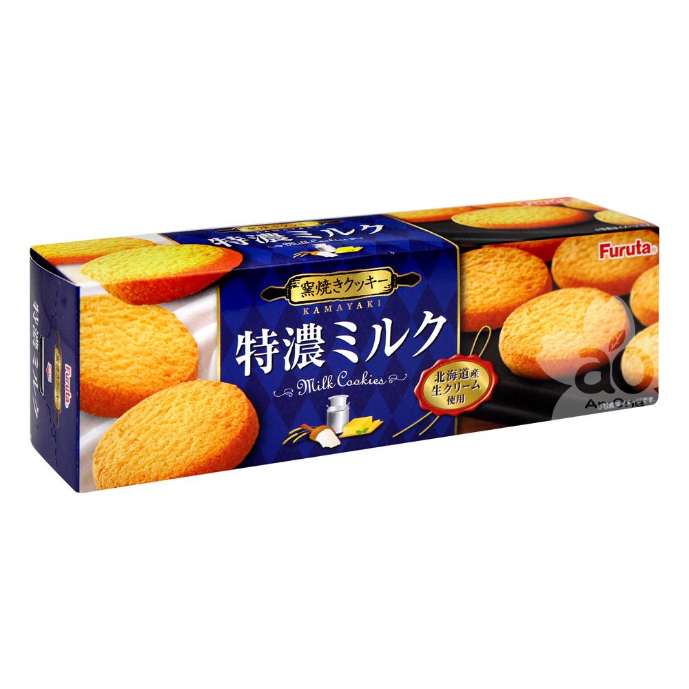 Furuta 特濃牛奶餅乾(76.8g x2盒)