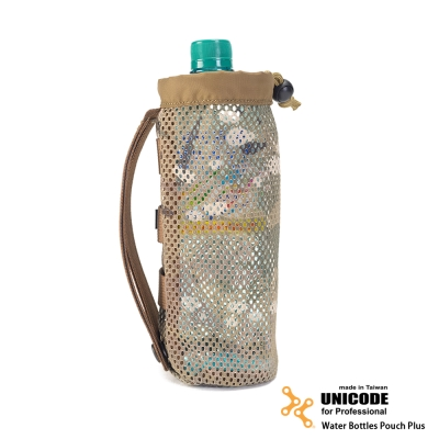 UNICODE Water Bottles Pouch Plus 水瓶袋模組-多地形迷彩