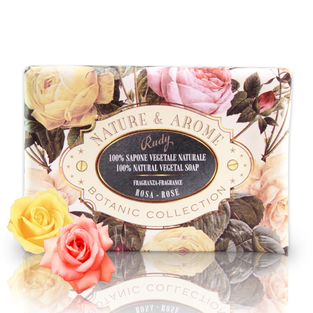 義大利N&A玫瑰花保濕香皂150g