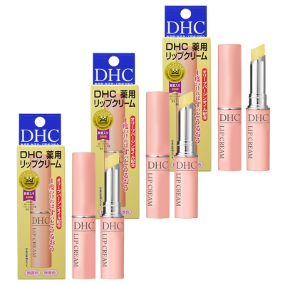 DHC-橄欖護唇膏1-5g-3入