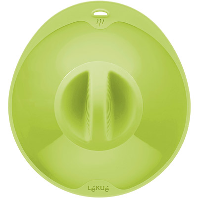 LEKUE 透氣耐熱密封蓋(綠21cm)