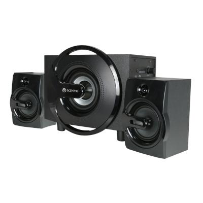 KINYO 黑爵士2.1聲多媒體音箱(KY-1605)
