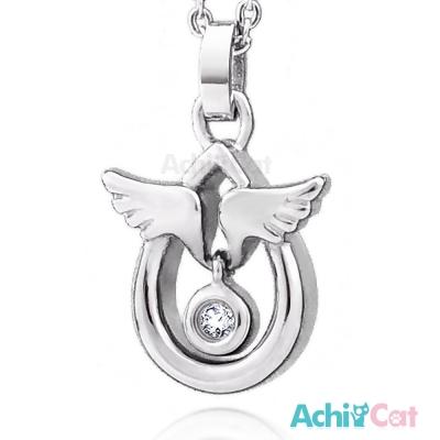 AchiCat 珠寶白鋼項鍊 天使蛋