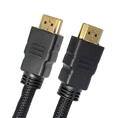 【fujiei】5M HDMI公對公數位轉接編織線(SU3011)