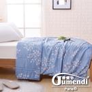 喬曼帝Jumendi-幽藍香氣 法式時尚天絲萊賽爾纖維涼被