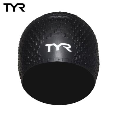 美國TYR Long Hair Silicone Cap 女用凸點泳帽-兩色