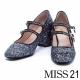 跟鞋-MISS-21-復古甜心璀璨格麗特超纖瑪麗珍