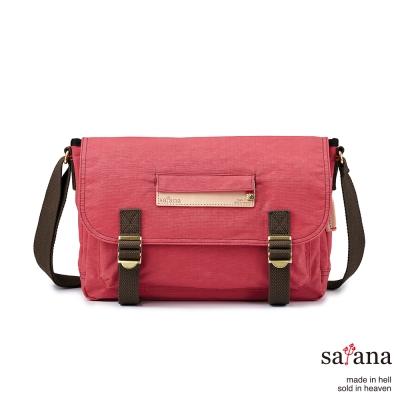 satana - 美好年代側背包 - 漿果紅