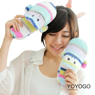 YOYOGO-CRAFTHOLIC-海軍風條紋猴拖鞋