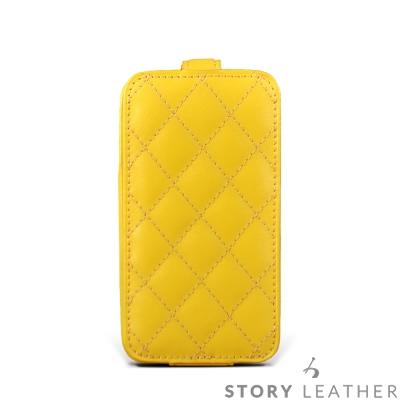 SONY XZs / XZ Premium PDA式下蓋菱格紋 客製化皮套