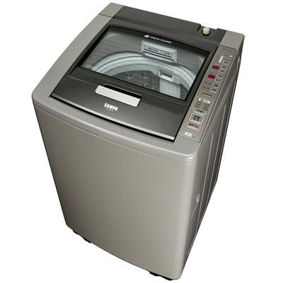 福利品 SAMPO聲寶15公斤PICO PURE單槽變頻洗衣機ES-DD15P(K1)