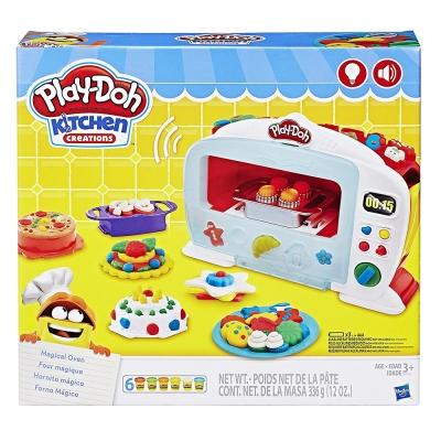 培樂多Play-Doh 創意DIY黏土 廚房系列 神奇烤箱組 附中文說明書 B9740