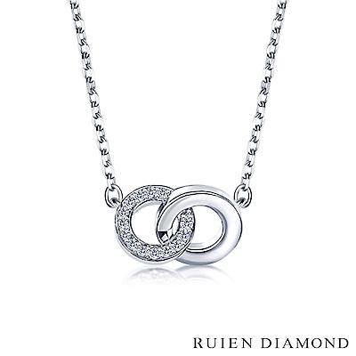 RUIEN DIAMOND 輕珠寶系列 7分 14K金鑽石項鍊