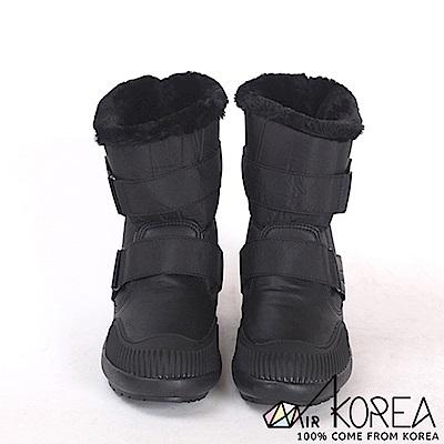 AIRKOREA-正韓時尚運動防風鋪棉保暖內鋪毛雪