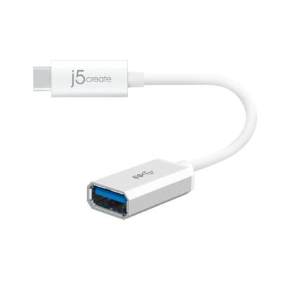 j5create USB 3.1 Type-C 轉 Type-A 轉接線-JUCX05