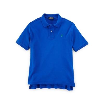 Ralph Lauren T-SHIRT 短袖 小孩 POLO 藍色 002