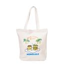 Sanrio 蛋黃哥美國版夏威夷系列帆布手提袋(夏威夷舞白)