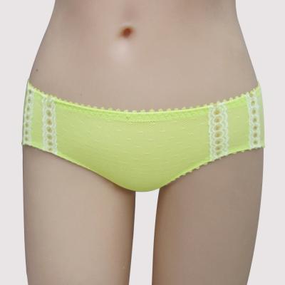 瑪登瑪朵-我挺妳輕薄舒適  低腰寬邊三角萊克褲(萊茵綠)