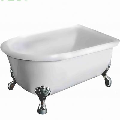 【I-Bath Tub精品浴缸】伊莉莎白-經典銀(150cm)
