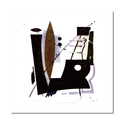 24mama掛畫 - 單聯創意無框藝術掛畫 - 抽象風 40x40cm