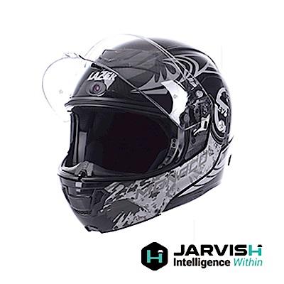 JARVISH X LAZER 藍牙智慧安全帽-沙漠之鷹 Monaco Evo S