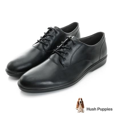 Hush Puppies Ondine 防潑水綁帶式正裝鞋-黑色