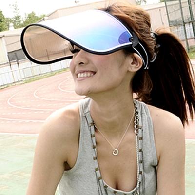 Aimee-Toff-新款七彩渡膜-抗UV400美容面罩-黑