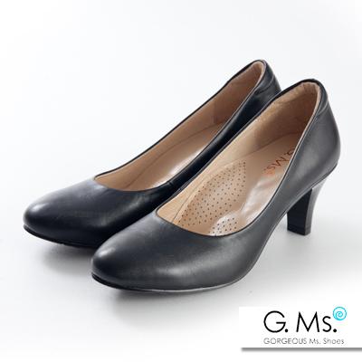G.Ms. 小資X麻吉-MIT手工全真皮高跟鞋-F款
